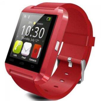 Harga Smartwatch iWatch U80 GSM / Micro SD Mobile Phone Watch (Red)