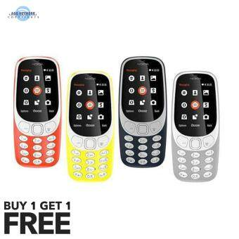 Harga (Import) Smobile 331 New 2017 Mobiles Black Edition | Nokia 3310 Rebrand | Buy 1 Free 1 Mystery Gift