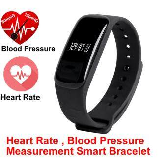 Harga Newest M8 Smart Bracelet Blood Pressure Heart Rate Smart Band Call/SMS Reminder Bluetooth Camera for ios Android Waterproof IP67