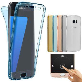 Harga MISSCASE 360 Degree Full Body Protect Soft TPU Case Front + Back Cover For Samsung Galaxy S6