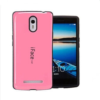 Harga Iface Shockproof Case for Oppo Find 7 (Pink)