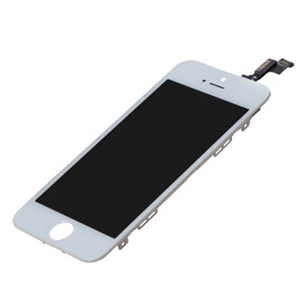 Harga LL Trader Original Quality GSM Glass Display Touch Screen Front Glass Assembly Screen Replacement (White) with Free Repair Tools for iphone 5S