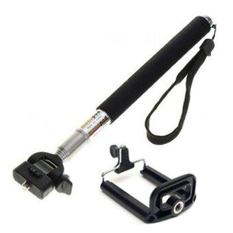 Harga Selfie Monopod for Smartphone and Cameras Black