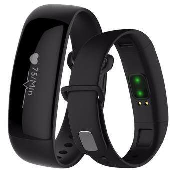 Harga Smart Wristband M88 Smartband Heart rate Blood Pressure monitor Fitness Bracelet Pedometer for IOS Android PK mi band 2 fitbit