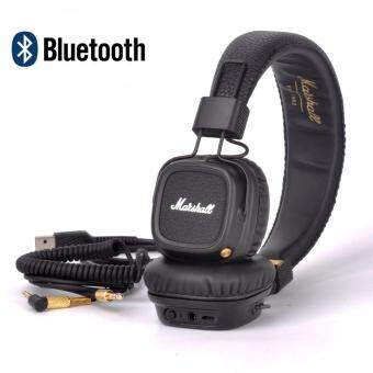 Harga Marshall Major II Bluetooth Headphones Wireless Headset Foldable with Built-in Microphone and Remote Second generation 2