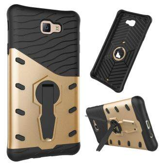 Harga Heavy Duty Shockproof Dual Layer Hybrid Armor Defender Full Body Protective Cover with 360 Degree Rotating Kickstand Case for Samsung Galaxy J7 Prime