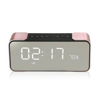 Harga Portable Bluetooth Speaker PTH-305 Wireless Stereo Music Sound Box Support FM Radio Line In TF Time/Alarm Clock Altavoz Speakers