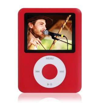 Harga New Music MP4 Media Player 1.8inch Digital Display 8GB Portable Video Record Function with Earphone