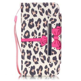 Harga Moonmini Flip Cover Leather Case for Huawei Y6 (Leopard)