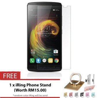 Harga Lenovo K4 Note / A7010 / Vibe X3 Lite HD Tempered Glass + FREE iRing Phone Stand