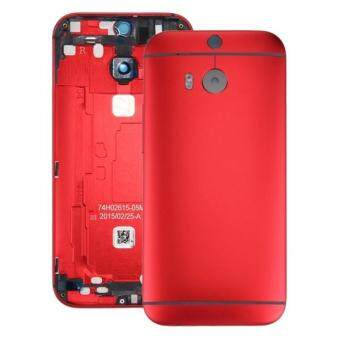 Harga IPartsBuy For HTC One M8 Back Housing Cover(Red)