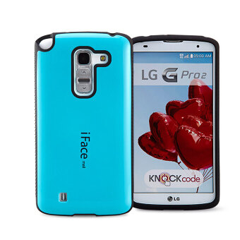 Harga iFace Heavy-Duty Shockproof Hard Case for LG Gpro2 d838 (Light Blue)