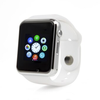 Harga ZenGear A1 Android Smart Sport Watch With SIM Phone Call ,Take Selfie for iPhone and Android Smartphones (White)