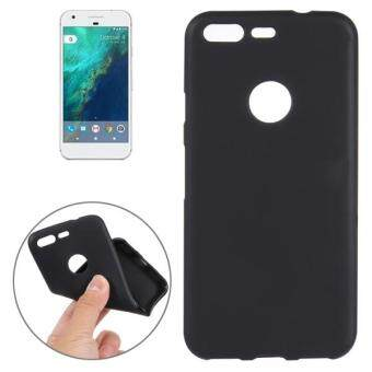 Harga For Google Pixel Soft TPU Protective Back Cover Case (Black)