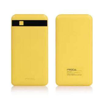 Harga GEON Original Remax Proda PPP-9 12000mAh Power Bank (Yellow) (1 Year Local Supplier Warranty)