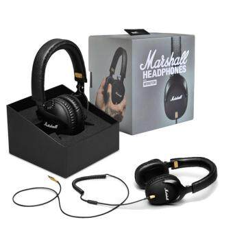 Harga Genuine Marshall Monitor Headphones Over-Ear Headset With Mic