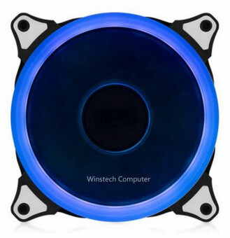 Harga Aigo 120mm LED casing fan (BLUE)