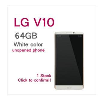 Harga LG V10 F600L White 64GB Smart Mobile Phone / RAM 4G 5.7 inch / Smartphone