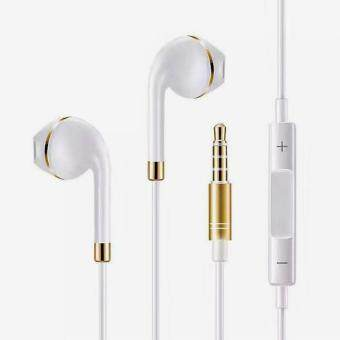 Harga In Ear Earphone dalam telinga Supper Bass Noise Isolating Earphones Wired Control Headphones Earpods Headset Headphone for PC Laptop MP3 MP4 iOS Android