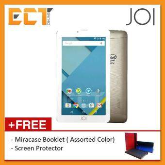 Harga Intel Inside JOI 7 Lite 8GB Dual Sim + Universal Booklet Case + Screen Protector (Gold)