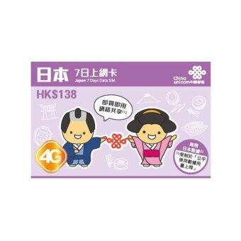 Japan Unicom (3GB Unlimited) Travel Prepaid Sim Card