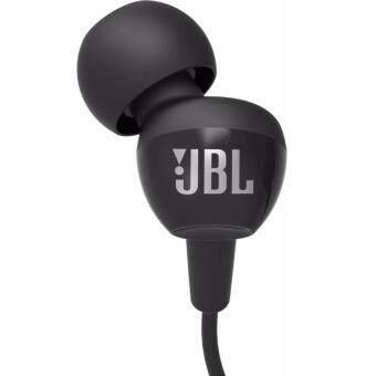 JBL C100SI In- Ear Headphones with Mic (Black)