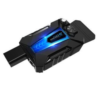 JM GAMING 2016 New upgrade! V3+LED light Cool Cold Portable Laptop Cooling Fan Air Extracting Cooler + silencer Malaysia