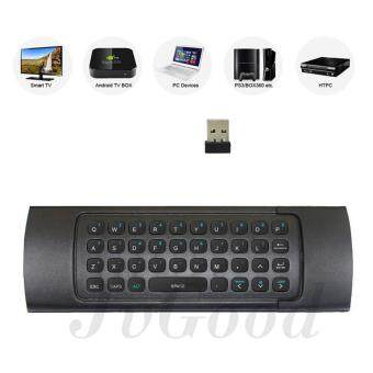 JvGood MX3 Multifunction 2.4G Air Mouse Mini Wireless Keyboard & Infrared Remote Control & 3-Gyro + 3-Gsensor for Google Android TV/Box, IPTV, HTPC, Windows, MAC OS, PS3 Malaysia