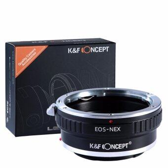 K&F Concept adapter for Canon EOS EF mount lens to Sony E mount NEX a5000 A7II