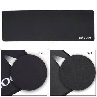 KKmoon 900*300*3mm Large Size Plain Black Extended Water-resistant Anti-slip Rubber Speed Gaming Game Mouse Mice Pad Desk Mat koko shopping mall - 5