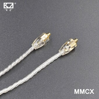 Harga KZ MMCX Silver Plating Cable Upgraded Cable Replacement Cable UseFor Shure SE215 SE425 SE535 SE846