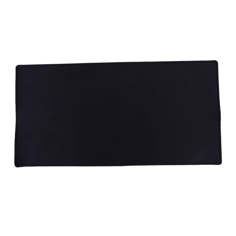 Large Gaming Mouse Pad 60 x 30CM Computer Rubber Pro Keyboard Mats (Black) Malaysia