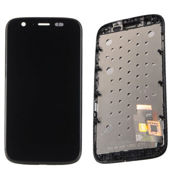 LCD Display Touch Screen Assembly + Frame For Motorola Moto GXT1032 XT1033-