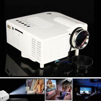leegoal Home Theater UC28 Portable 1200lumens 1080P HD LCD HDMI USBVideo Game Mini LED Projector Proyector Projetor Beamer Projektor - 4