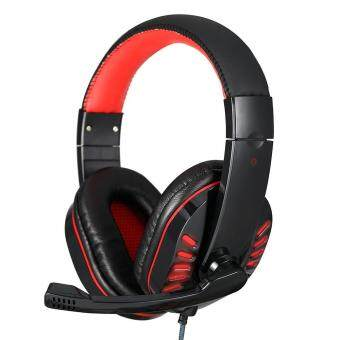 leegoal Hot USB 3.5mm Surround Stereo Gaming Headset HeadbandHeadphone With Mic For PC With LED Lighting Effects