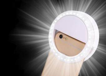Harga leegoal Selfie Ring Light For IPhone 6 Plus/6s/6/5s/5/4s/4, SamsungGalaxy S6 Edge/S6/S5/S4/S3, Galaxy Note 5/4/3/2