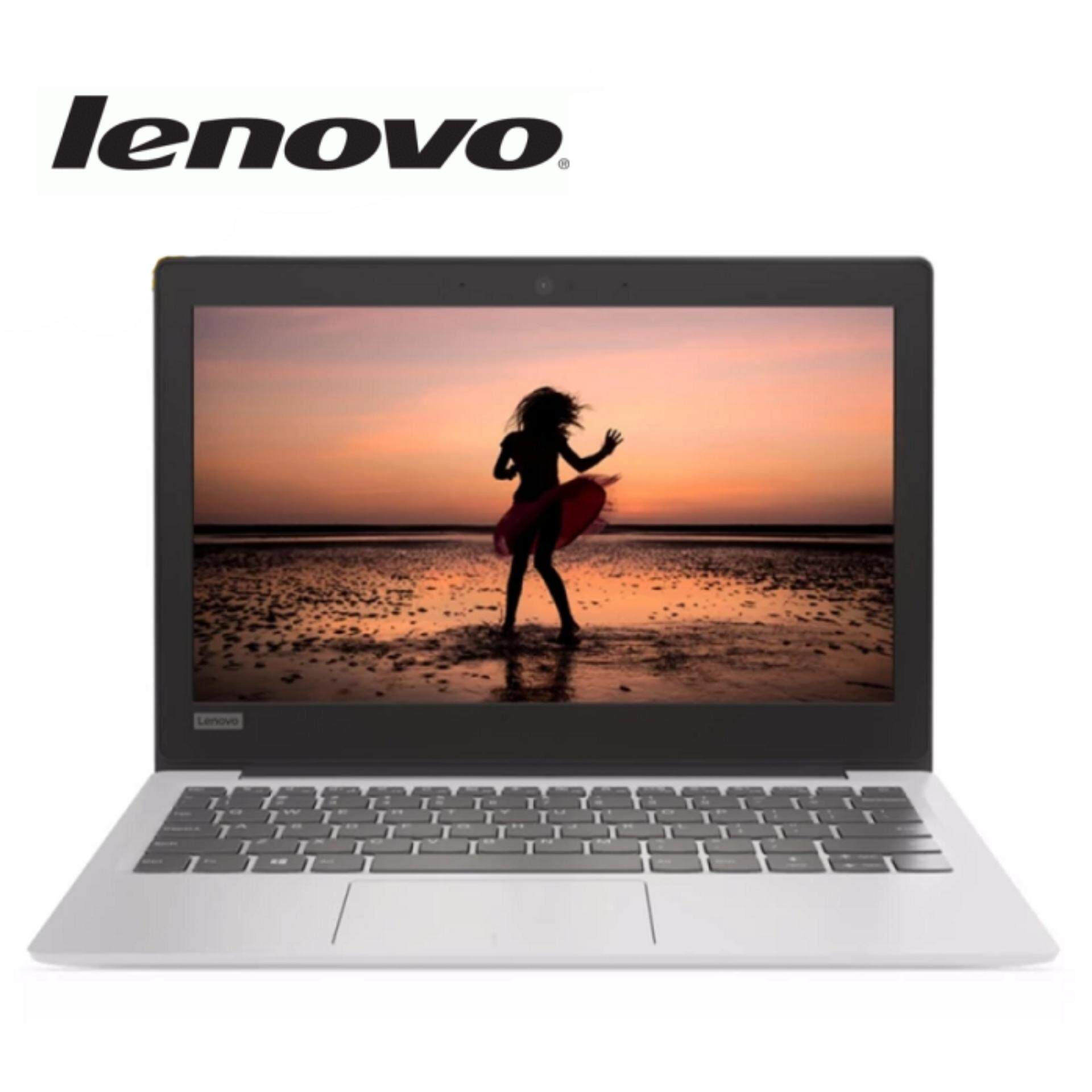 Lenovo IdeaPad 120S-11IAP 81A400AMMJ Laptop(Celeron N3350/4GB/64GB/Intel Graphic/11.6˝HD/W10)White Malaysia