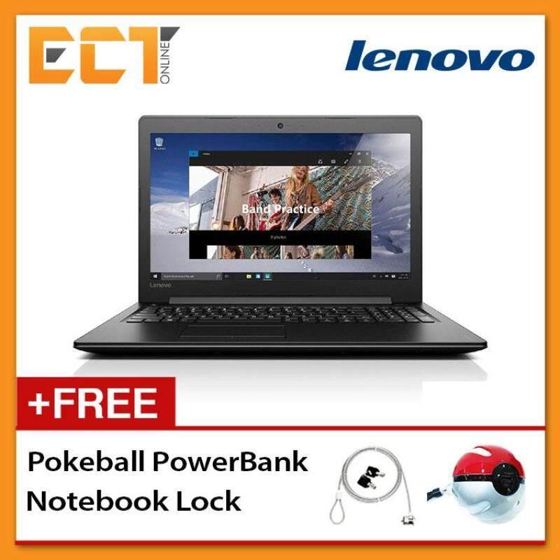 Lenovo Ideapad 310-15IKB 80TV00QNMJ Laptop (i5-7200u 3.1Ghz, 1TB,4GB,NVIDIA GT920MX-2GB,15.6FHD,W10) - Black Malaysia
