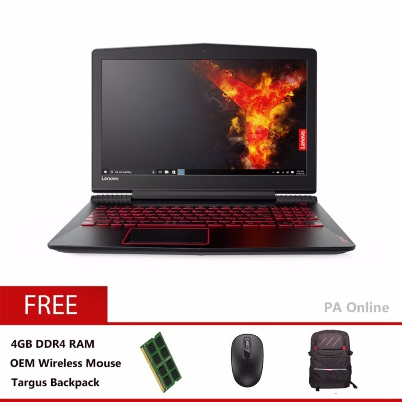 Lenovo Legion Y520-25MJ/Intel Core i7-7700HQ/8GB DDR4/2TB/4GB GTX1050TI/15.6 FHD IPS/Win 10 Malaysia