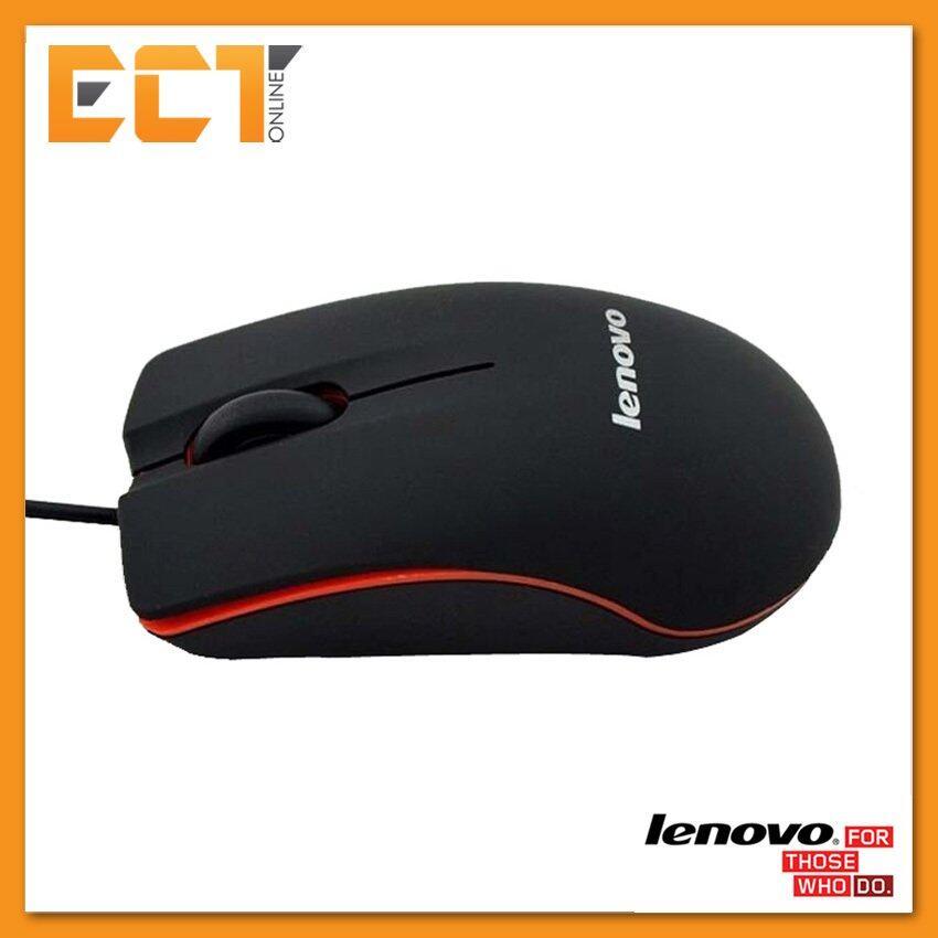 Lenovo M20 USB 3 Button 1000 DPI Wired Mini Optical Mouse Malaysia