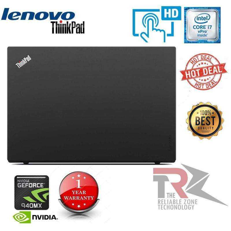 Lenovo ThinkPad T560 - 15.6 (TOUCH SCREEN) - Core i7 6600U - 32 GB RAM - 512 GB SSD nvidia geforce 940mx  NEW (BOX PACK) Malaysia
