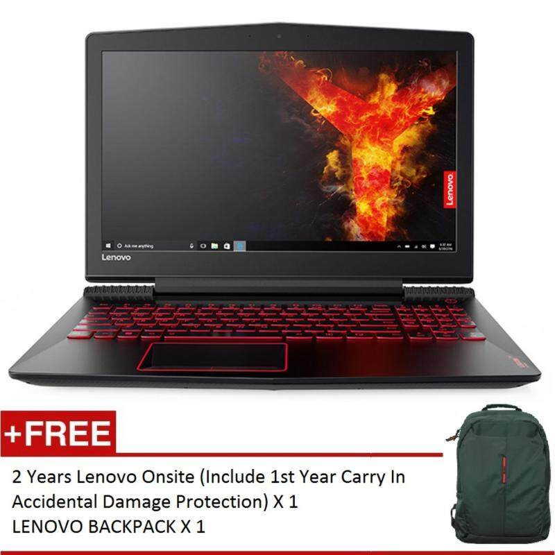 LENOVO Y520-15IKBN I7 GAMING NOTEBOOK 80WK0051MJ (I7-7700HQ, 4GB, 1TB HDD, NVIDIA GTX1050 4GB DDR5, 15.6, WIN 10, 2 YEARS ONSITE) FREE BACKPACK Malaysia