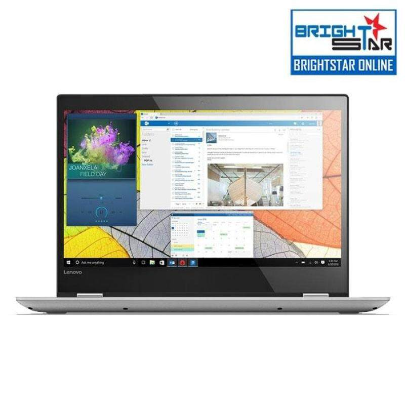 Lenovo Yoga 520 14IKB-80X800SSMJ Notebook - Grey (14inch / Intel I3 / 4GB / 128GB SSD / GT940MX 2GB) Malaysia