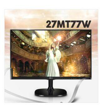 LG 27inch Wide Smart Mirroring Monitor 27MT77W / Wide View Monitor / IPS Monitor / 1920 X 1080 FHD