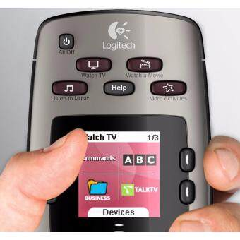 Logitech Harmony 650 Infrared All in One Remote Control, Universal Remote, Programmable Remote - [Silver] - 3