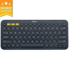 Logitech K380 Multi-Device Bluetooth Keyboard - Black Malaysia