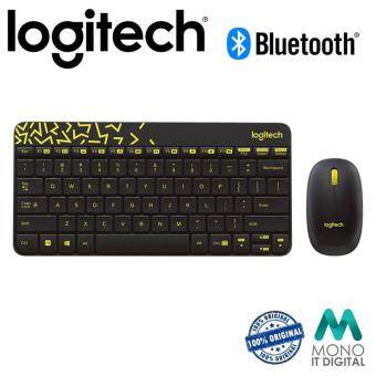 Logitech MK240 Nano Wireless Keyboard And Mouse Combo - Black (Original Logitech Malaysia)