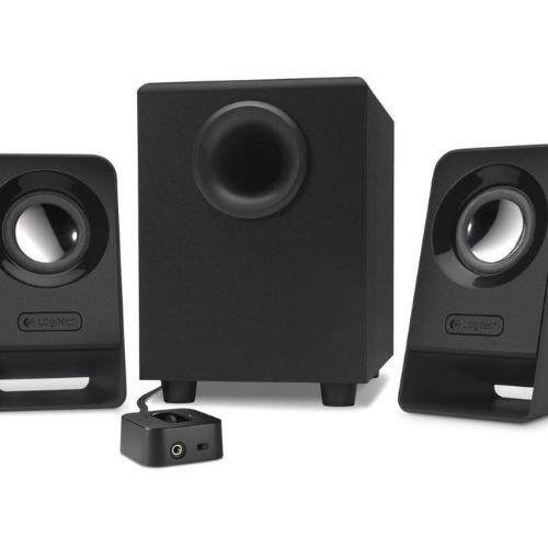 Logitech Multimedia Speakers Z213 14W (Black) Malaysia