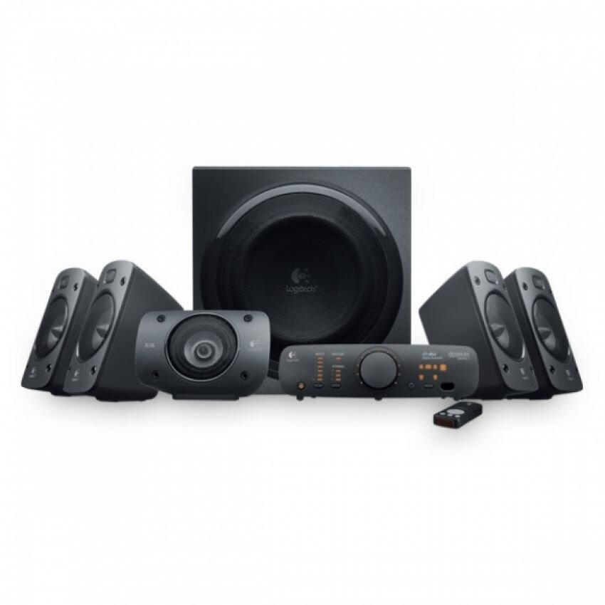 Logitech Speaker System Z906 THX-Certified 5.1 System 500W Malaysia