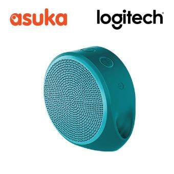 Harga Logitech X100 Housing With Green Grill Bluetooth Speaker - Green
